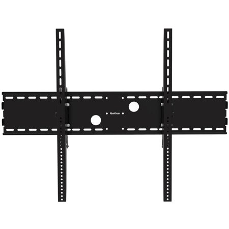 QualGear Heavy-Duty Tilting TV Wall Mount For Most 60″-100″ Flat Panel and Curved TVs, Black