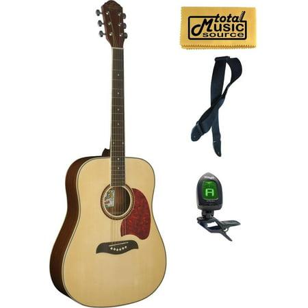 og2 oscar schmidt acoustic dreadnought guitar washburn natural og2n comp. Black Bedroom Furniture Sets. Home Design Ideas
