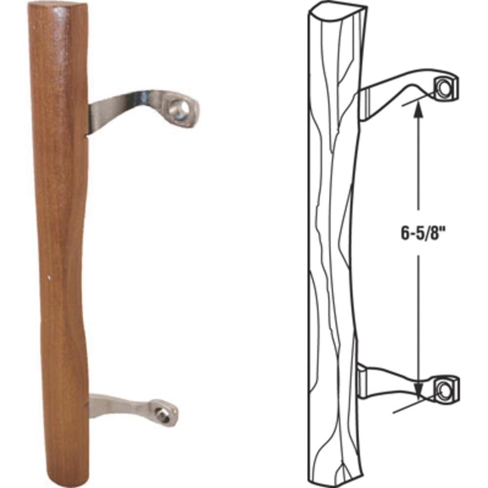 Prime Line Products 141642 Sliding Glass Patio Door Handle, Wood