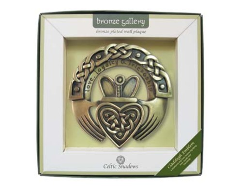 Claddagh Emblem Plaque by
