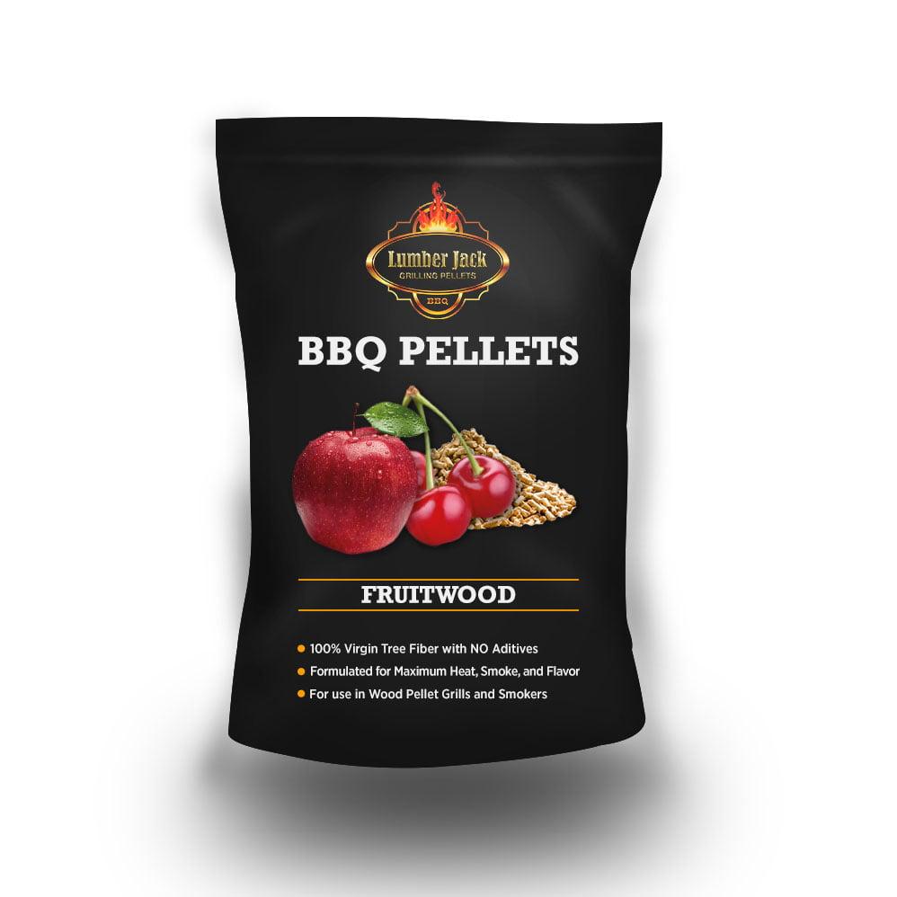 Lumber Jack Fruitwood Blend BBQ Grilling Pellets