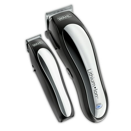 Wahl Lithium Pro Complete Cordless Hair Clipper & Touch Up Kit (Best Home Hair Clippers)