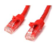 StarTech.com 100 ft Cat6 Patch Cable with Snagless RJ45 Connectors - Red - Cat 6 Ethernet Patch Cable - 100ft UTP Cat6 Patch Cord