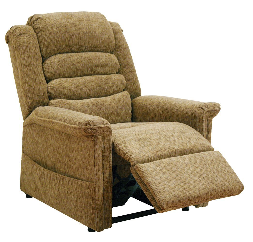 Catnapper Soother 4825 Power Full Lay-Out Lift Chair Recliner with Heat and Massage - Autumn with In-Home Delivery and Setup