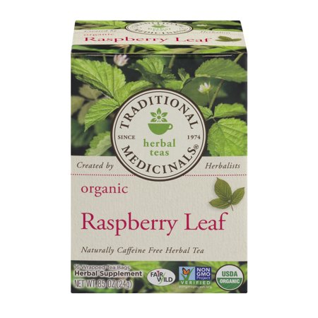 TRADITIONAL MEDICINALS Tisanes Tea Leaf framboise bio Sacs - 16 CT