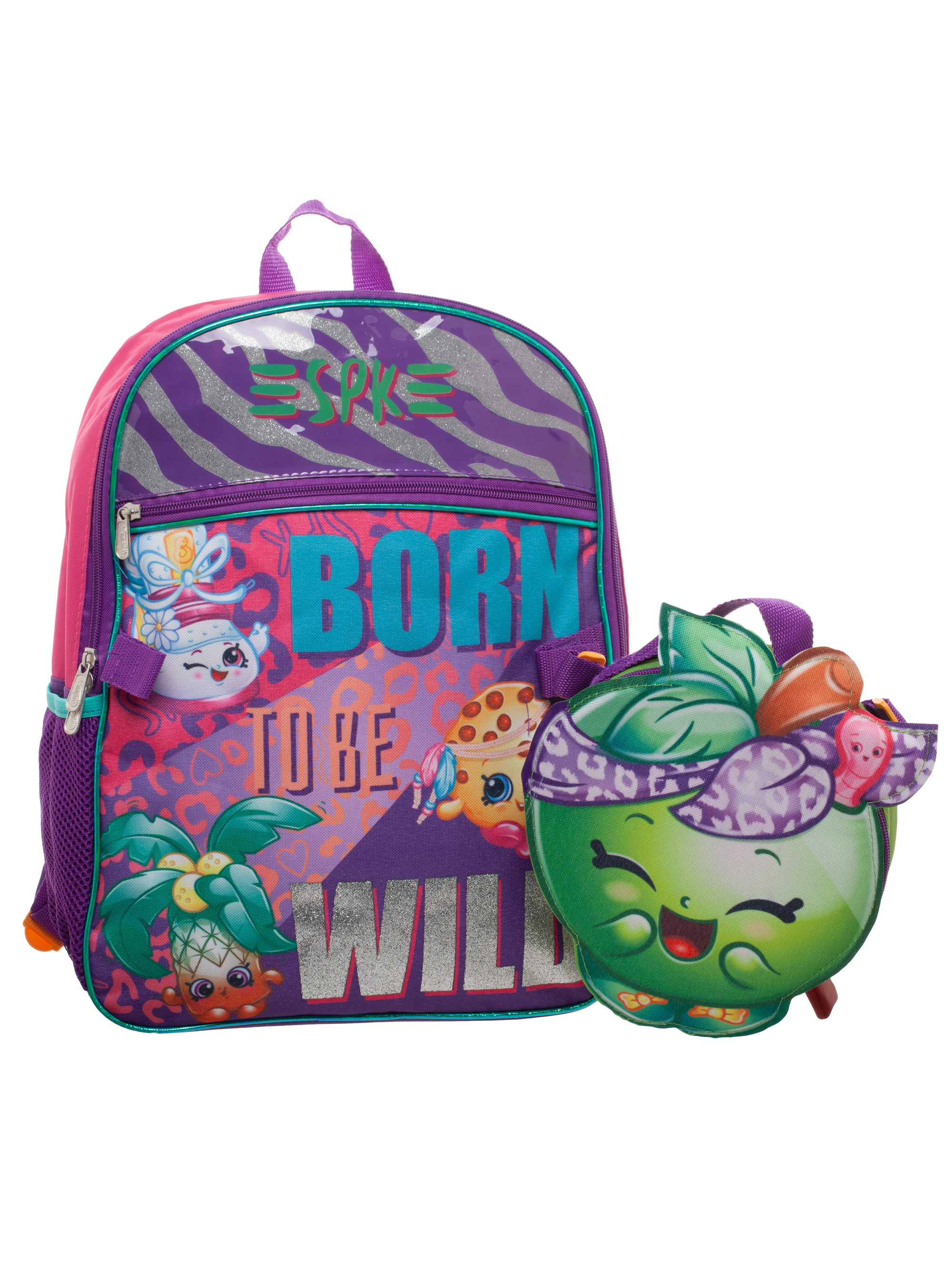 Shopkins Backpack With Lunch
