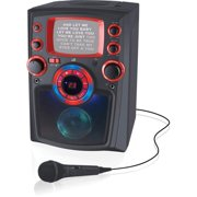 iLive Bluetooth Karaoke Machine with LED Light, IJMB485B