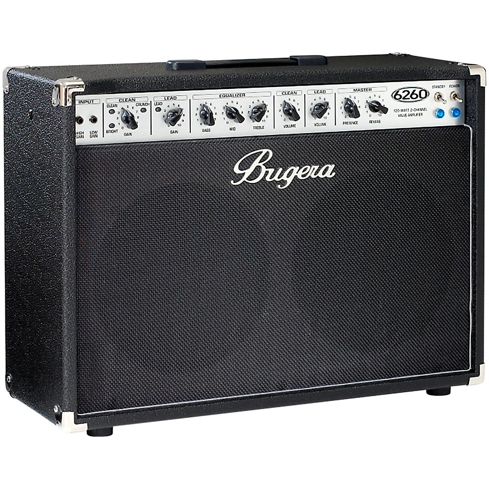 bugera 6260 120w 2x12 2 channel tube guitar combo amp with reverb. Black Bedroom Furniture Sets. Home Design Ideas