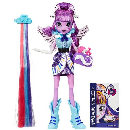 My Little Pony Equestria Girls Rainbow Rocks Twilight Sparkle Rockin' Hairstyle Doll by Generic