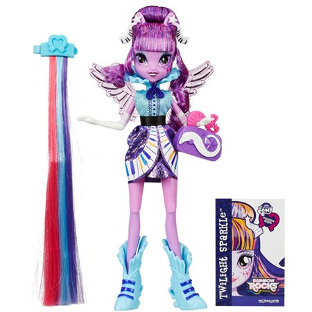 My Little Pony Equestria Girls Rainbow Rocks Twilight Sparkle Rockin' Hairstyle