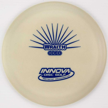 Innova DX Glow Wraith 170-172g Distance Driver Golf Disc [Colors may vary] - 170-172g - Glow In The Dark Golf Course
