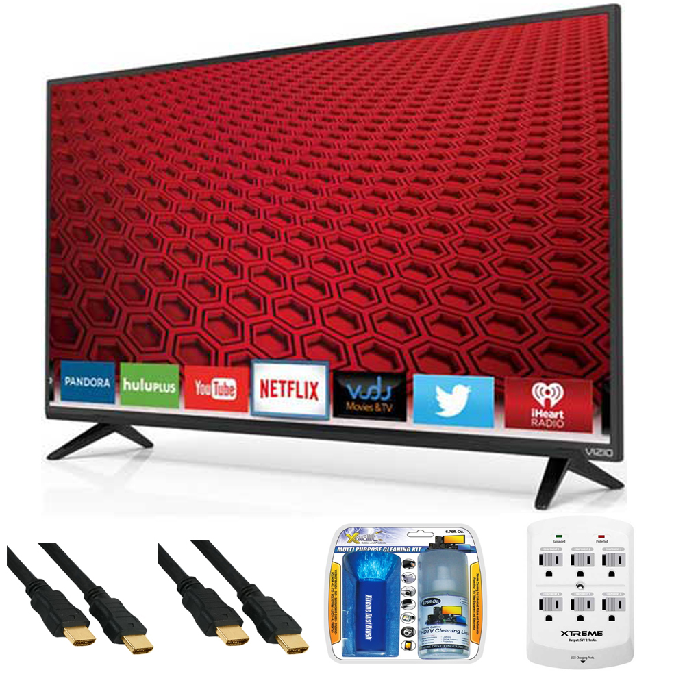 Vizio E40C2 ESeries 40Inch 120Hz 1080p Smart LED HDTV Plus Hook