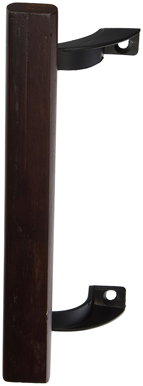 Diecast Brackets Qty 10 Prime-Line 6-5//8 Patio Sliding Door Handle Wood Pull