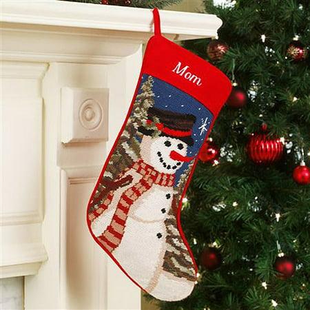 Personalized Needlepoint Christmas Stocking - Walmart.com