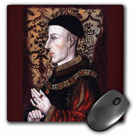 3dRose Henry V, King of England, Late 16th Century, Artist unknown, Mouse Pad, 8 by 8 inches