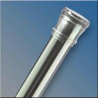 Zenith 34-1/2 In.-60 In. Adjustable Steel Tension Shower Rod