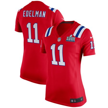 save off 1690f 0d6f9 Julian Edelman New England Patriots Nike Women's Super Bowl LIII Bound  Alternate Game Jersey - Red