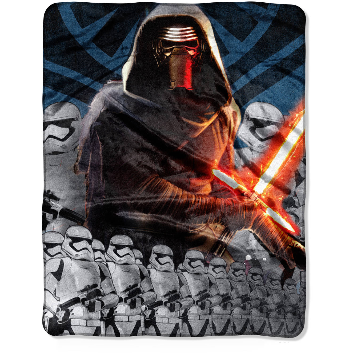 "Star Wars Episode VII: The Force Awakens ""Lead Force"" 40"" x 50"" Silk Touch Throw"
