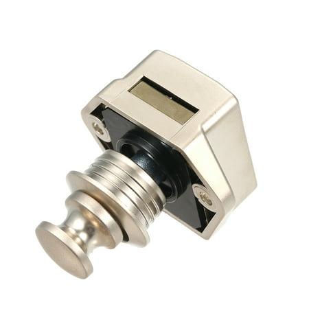 Car Push Lock Diameter 20mm RV Caravan Boat Motor Door Locking Home Cupboard Cabinet Drawer Button Locks For Furniture Hardware (Champagne) - image 4 of 7