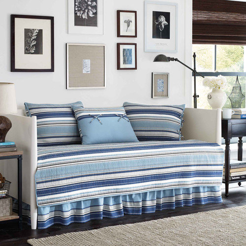 Stone Cottage Fresno 5-Piece Daybed Bedding Set, Blue