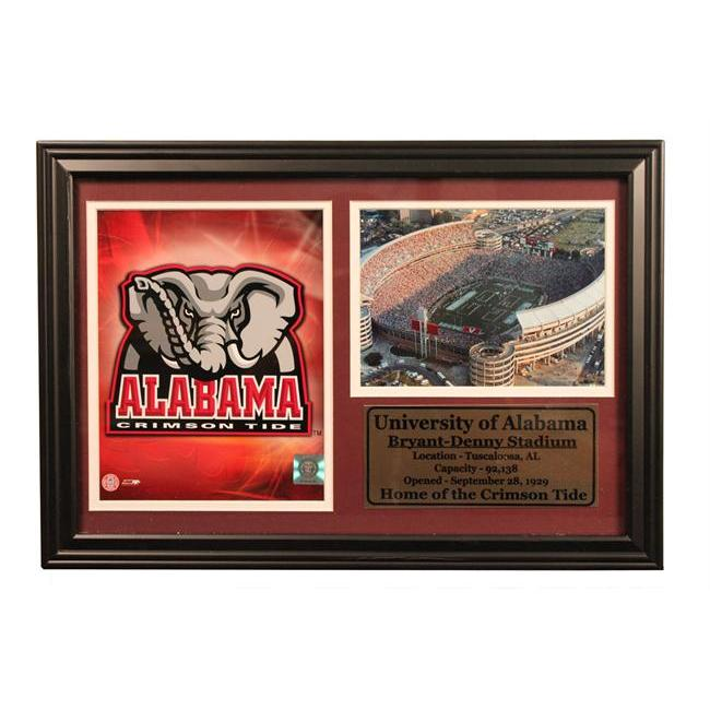 Encore Select 181-CFBUalabama University of Alabama Photo Stat Frame