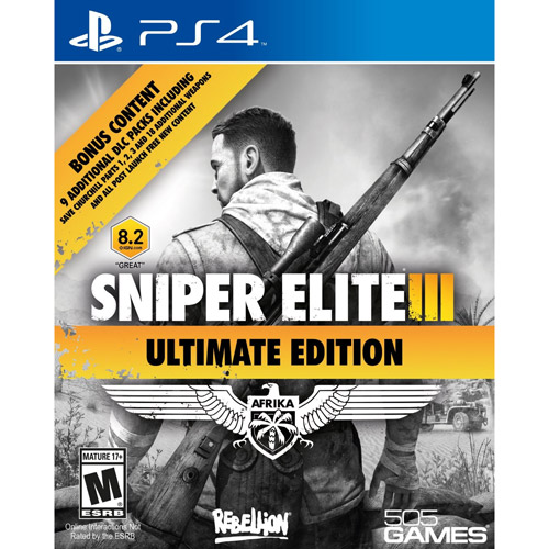 Sniper Elite III Ultimate Edition (PS4)
