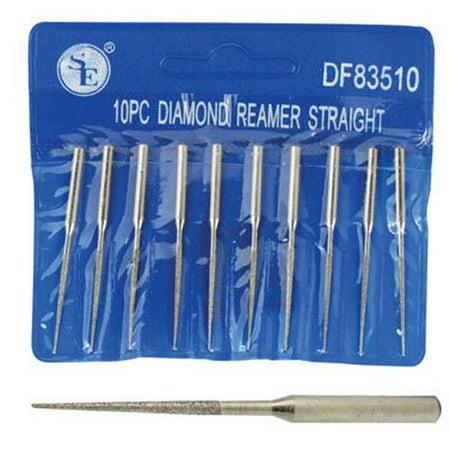 "10pc 2"" Diamond Bead Reamer Set 1/16"" x 7/8"" For Dremel Rotary Tool 1/8"" By BRAND NEW"