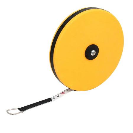 30M Length Plastic Shell Retractable Ruler Measuring Tape Measure Tool
