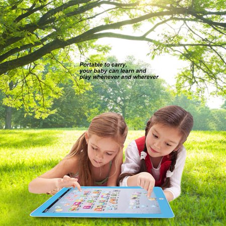 Kids Children Tablet Pad Electronic Preschool English Learning  Educational Teach Toy, English Learning Pad Toy,Tablet Pad Toy