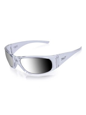 9a0b8c92a9b3 Product Image ICICLES MRRR-3 Agent Smoke Mirror Lens Sunglasses with  Crystal Frame Color