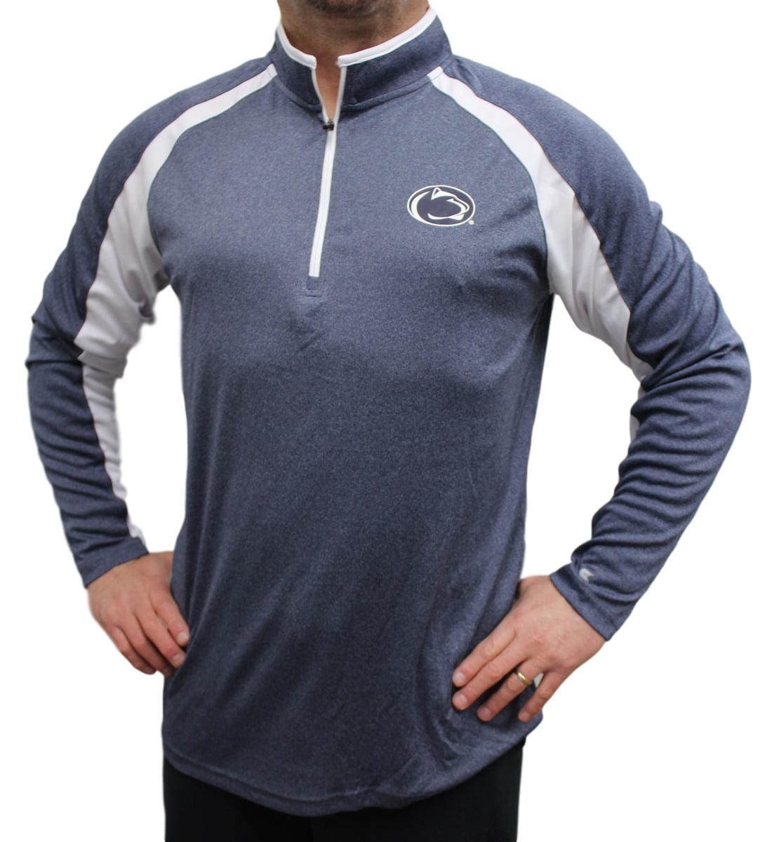 "Penn State Nittany Lions NCAA ""Peterman"" 1/4 Zip Pullover Men's Wind Shirt"