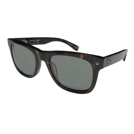 New Lacoste L878s Womens/Ladies Designer Full-Rim 100% UVA & UVB Havana Sophisticated Contemporary Designer Genuine Classy Frame Gray Lenses 52-20-140 Rhinestones Sunglasses/Sun (Lacoste Womens Glasses)