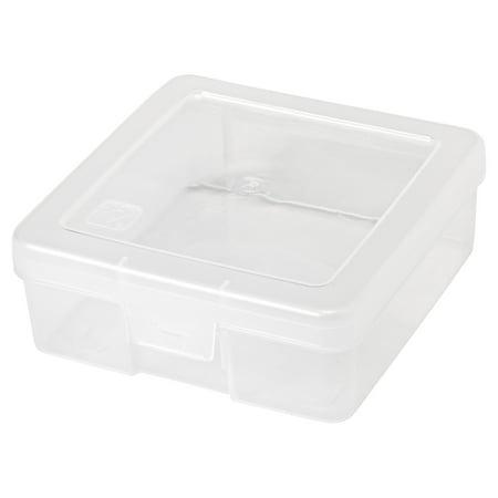 IRIS Small Modular Plastic Supply Case, Clear Set of 10