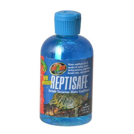 Zoo Med Laboratories Inc-Reptisafe Instant Terrarium Water Conditioner 4.25 Ounce Terrarium Water Conditioner