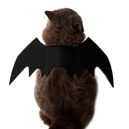 MAXSUN Halloween Cat Apparel Bat Wings Pet Puppy Doggy Decoration](Halloween Puppy Faces)