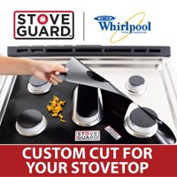 Whirlpool Stove Protectors - Stove Top Protector for Whirlpool WEG515S0FV1 Gas Ranges - Ultra Thin, Easy Clean Stove Liner