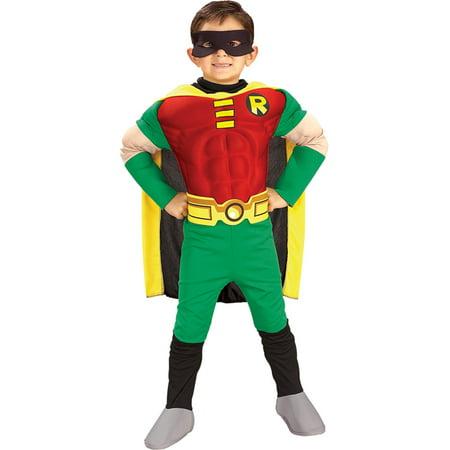 Morris Costumes Boys Robin Child Duluxe Small, Style RU882309SM