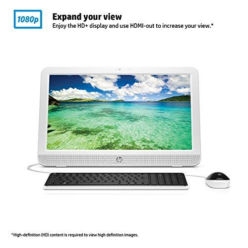 Hp 20-e000 20-e010 All-in-one Computer - Amd E-series E1-6010 1.35 Ghz - Desktop - White - 4 Gb Ddr3 Sdram Ram - 500 Gb Hdd - Dvd-writer Dvd-ram/±r/±rw - Amd Radeon R2 - Ddr3 (m9z49aa-aba)