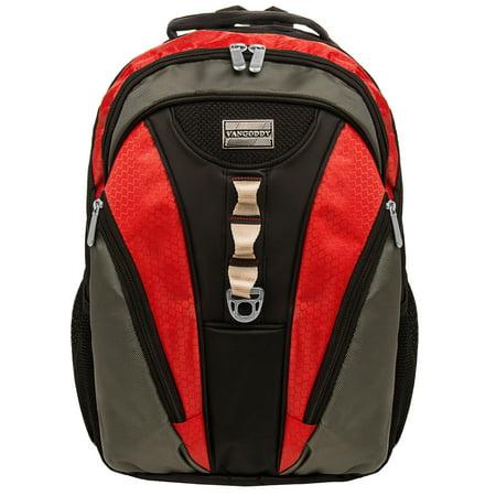 Rivo VANGODDY Rugged School Laptop Backpack fits Dell School Laptops 17.3