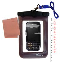Gomadic Clean and Dry Waterproof Protective Case Suitablefor the LG Optimus Pro to use Underwater