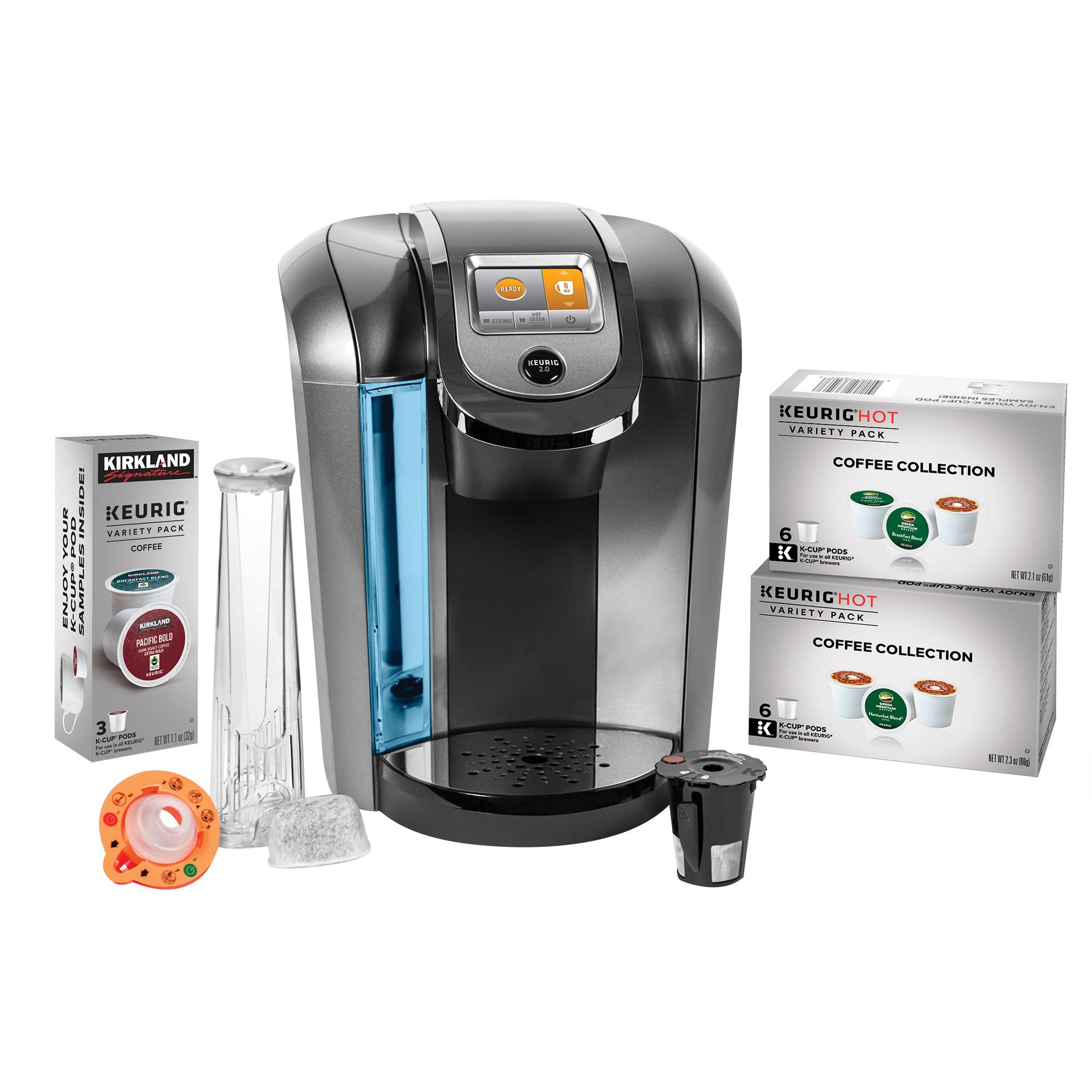 Keurig K525C Single Serve Coffee Maker 15 K-Cup Pods and My K-Cup 2.0