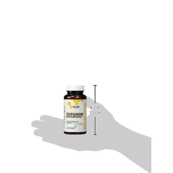 Dopamine Brain Food Supplement - All Natural Neurotransmitter Support - For  Mental Alertness, Improved Learning, Attention, Concentration and
