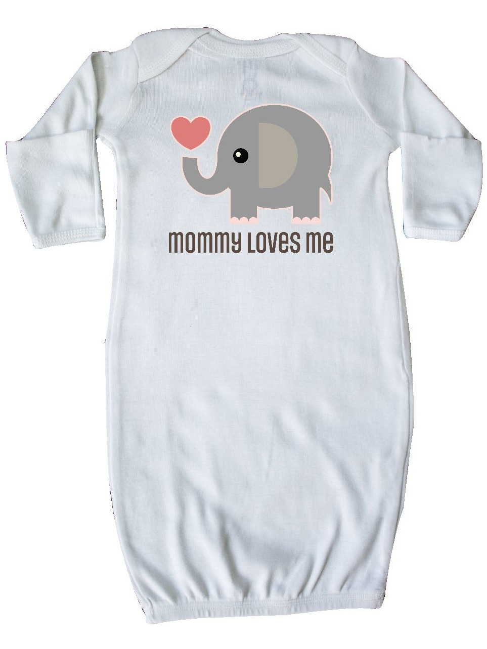 Mommy Loves Me elephant Newborn Layette
