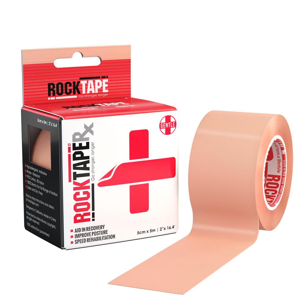 RockTape Rx Gentle Adhesive Single Rolls
