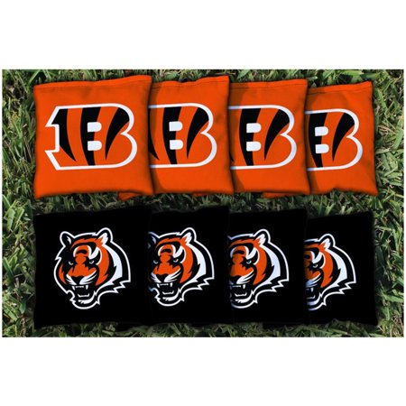 Cincinnati Bengals Replacement Corn-Filled Cornhole Bag Set - No (Bengals Cornhole Bags)