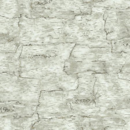 Natural Elements Birch Bark Wallpaper