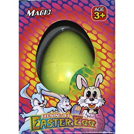 Easter Egg Magic Hatching Egg Growing Pet, Green Bunny - Easter Bunny Ideas