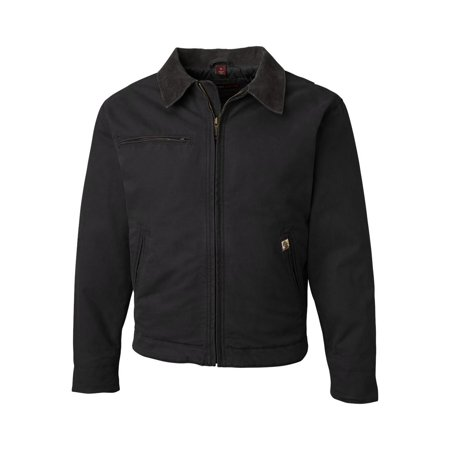 5087 DRI DUCK Outerwear Outlaw Boulder Cloth? Jacket with Corduroy Collar