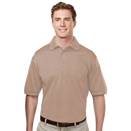 Tri Mountain Mens Big And Tall Microfiber Polyester Golf Shirt