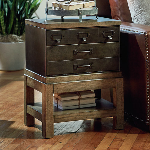 Legacy Classic Furniture MetalWorks End Table